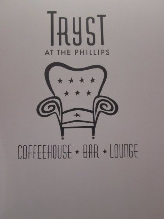Tryst Coffee House and Bar: interior
