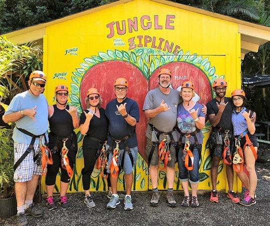 Haiku, Hawái: #junglezip #junglezipline2017.09.25-28