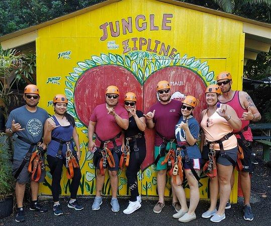 Haiku, HI: #junglezip #junglezipline2017.09.25-28