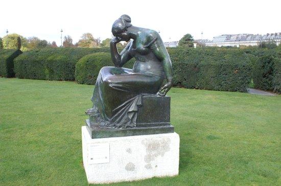 Maillol au Jardin des Tuileries