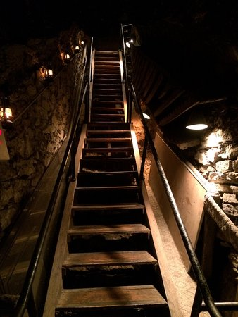 Mount Joy, PA: Inside Bubes and the catacombs