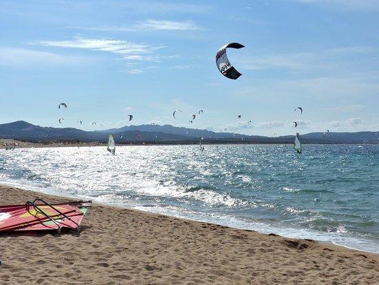 Hotel Le Ginestre: Porto Pollo near Palau-windsurfing and kitesurfing paradise -a top spot in the Mediterranean