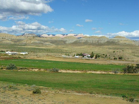 Buffalo Sage Bed & Breakfast : View from porch