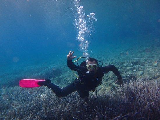 Island of Vis, Kroatië: Radocha pod wodą