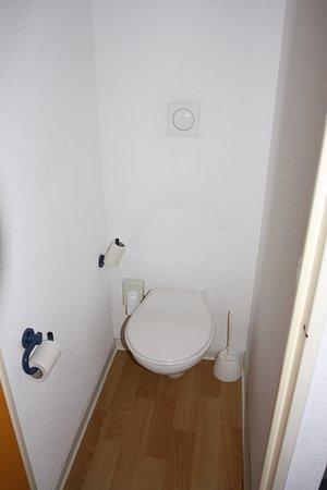 Sainte-Marie-de-Cuines, France: Туалет