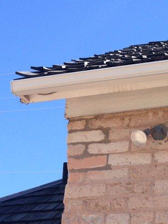 St. George, UT: Creosote roof planks