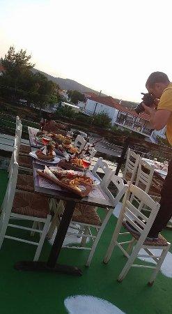 Laconia Region, Hellas: ta piata mas