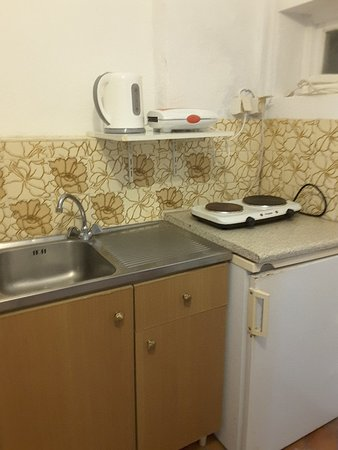 Tsambika's Studios: Kitchen of Rm  3 Tsambika  Villa, Lindos