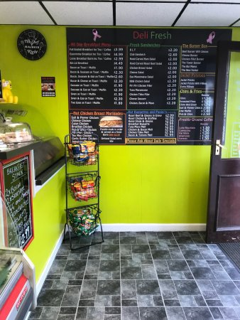 inside Deli-fresh Heywood October 2017