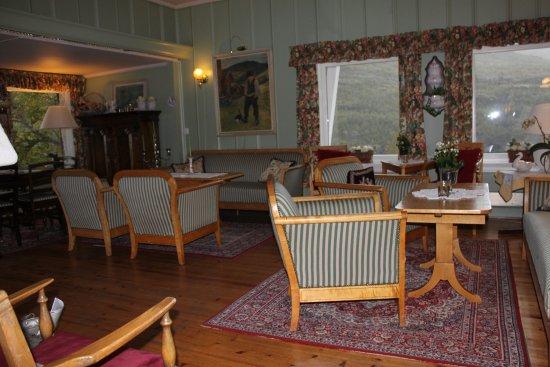 Vatnahalsen Hoyfjellshotell : gathering area