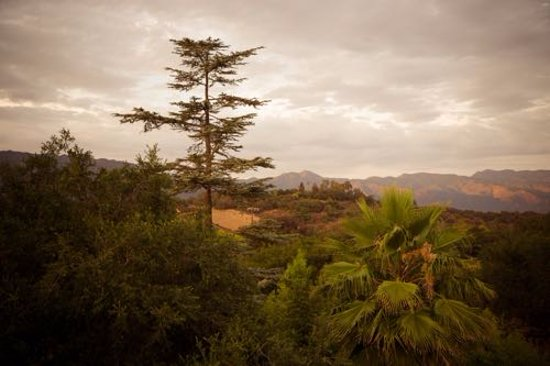 Ojai, Kalifornien: View from Suite #8 Balcony
