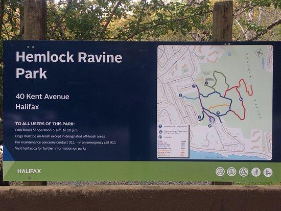 Bedford, Kanada: Hemlock Ravine