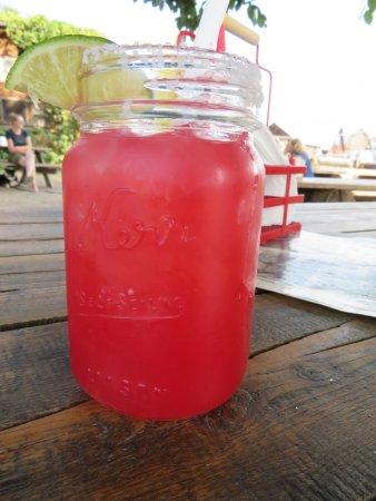 Polebridge, MT: Huckleberry Drink