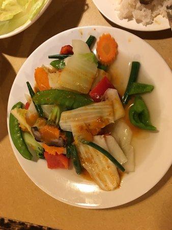 Truro, Canadá: Mixed vegetable stir fry