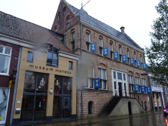 Franeker; entree;-Museum Martena