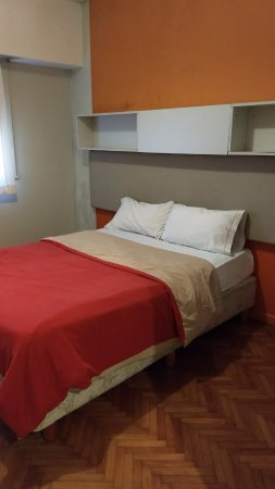 Hostel Suites Florida: cama
