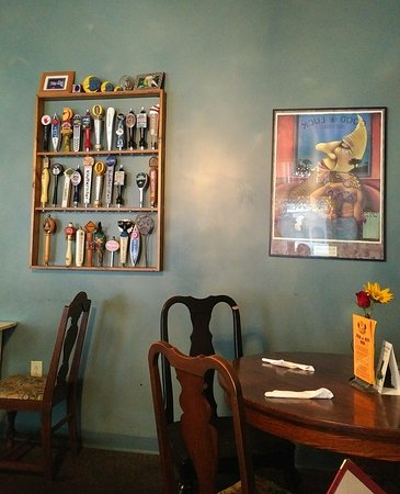 Newberry, Carolina del Sud: Dinner at The Flying Pie