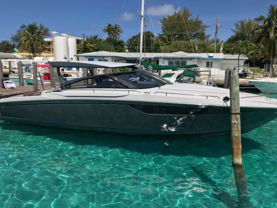 North Miami Beach, FL: The new addition to the fleet.  43ft Baia Express yacht.  Go to Bimini Bahamas in a hour.