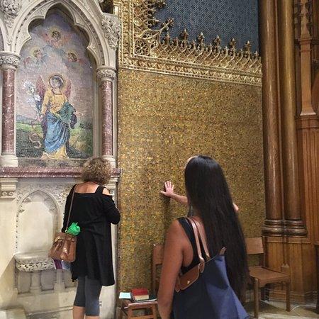 Troy, NY: Tiffany mosaics - St. Paul's Episcopal Church