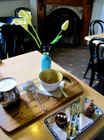 Yackandandah, Australien: yummy chai & treats