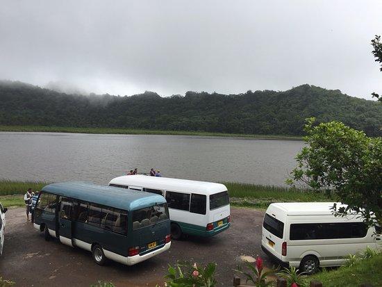 Saint George Parish, Grenada: Grand Etang Lake -- Group Tour stop