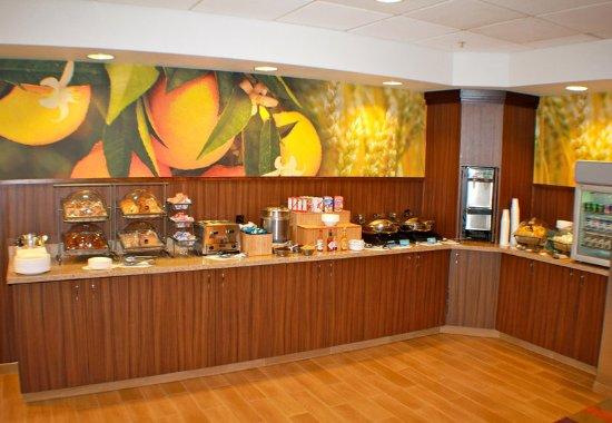 Γιακίμα, Ουάσιγκτον: Breakfast Buffet