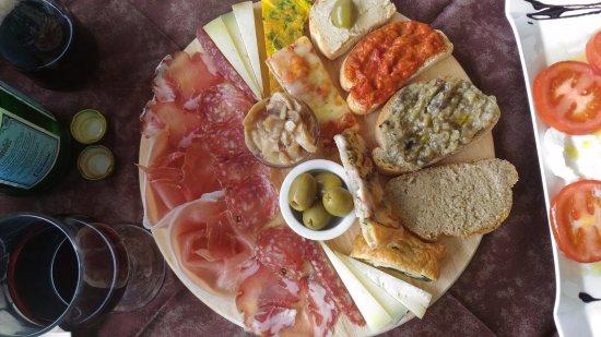 Taverna del Verziere: Mixed appetizers