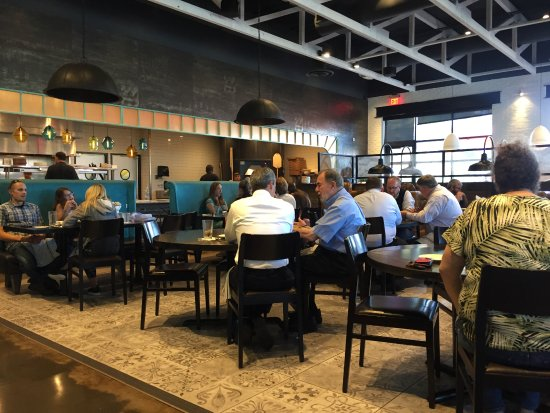 Waltham, Μασαχουσέτη: The dining room