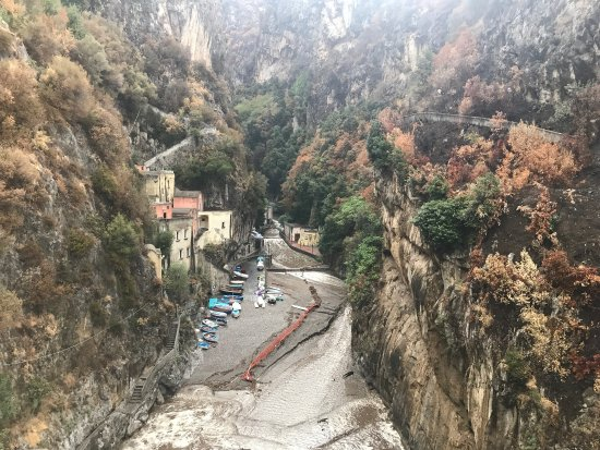 Fiordo di Furore, Italy: After flooding 2017 :(