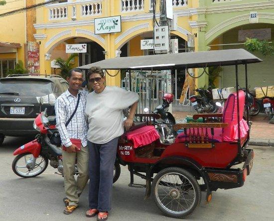 Sarith Angkor Tuk Tuk Driver