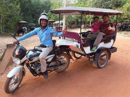 Happy Angkor Wat Driver