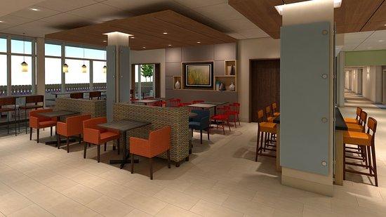 Platteville, WI: Breakfast Area