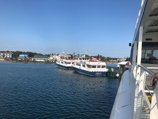 Star Line Ferry To Mackinac Island Mi