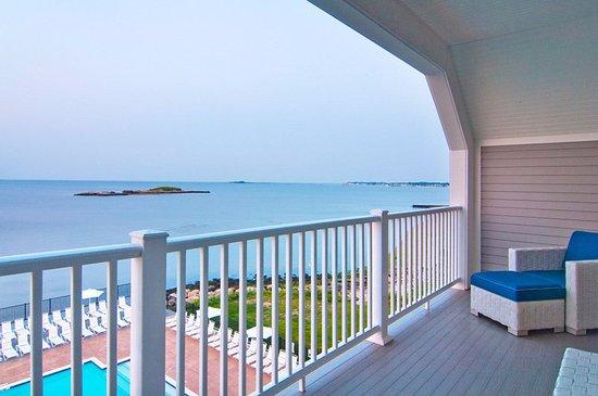 Westbrook, CT: Villa's By The Sea - Balcony