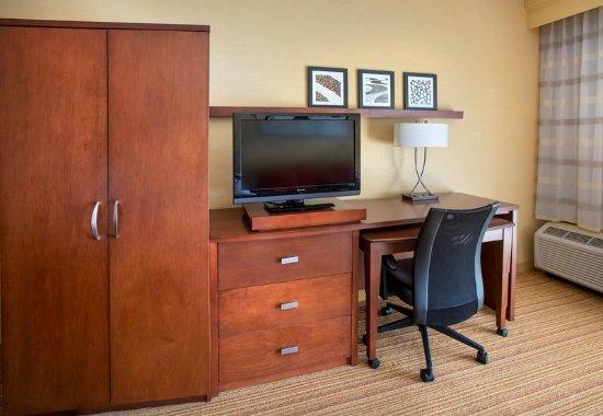 Mahwah, Νιού Τζέρσεϊ: Guest Room Work Desk