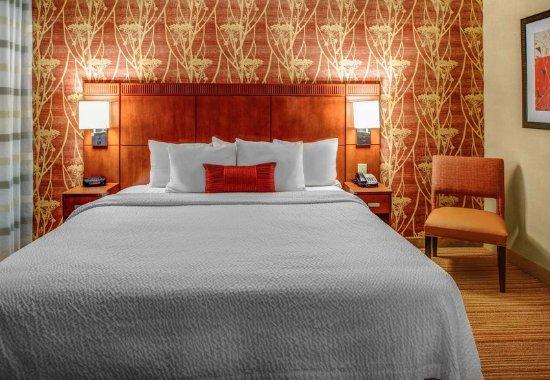 High Point, Karolina Północna: King Suite Bedroom