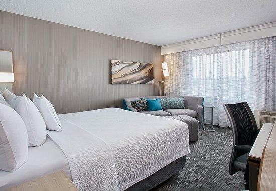 Pontiac, Мичиган: King Guest Room