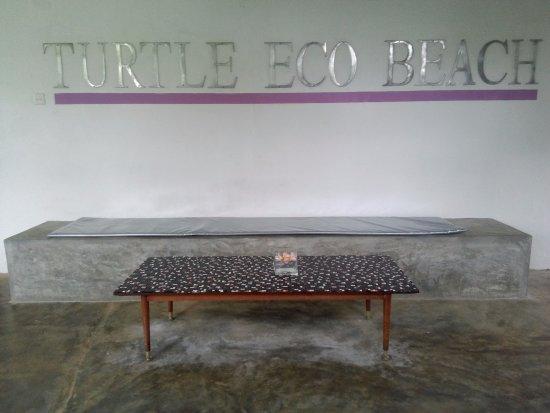 Turtle Eco Beach: near reception