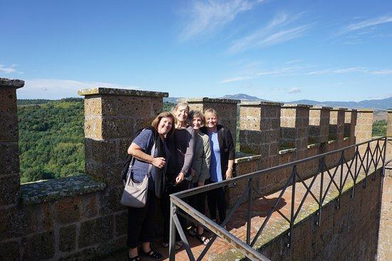 Proceno, Italia: Top of the Castle