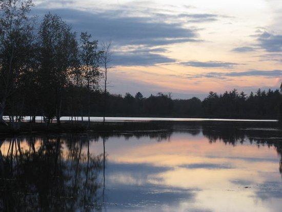 Alpena, MI: sunset on the first night