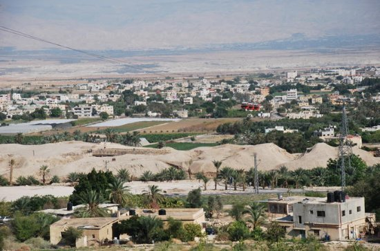 Jericho, the Jordan river & the Dead Sea from Jerusalem