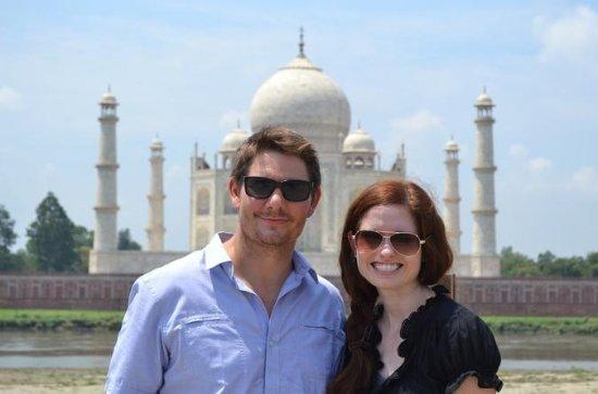 Samme dag Private Taj Mahal Tour fra...