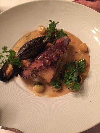 Rotherwick, UK: Fancy dinner