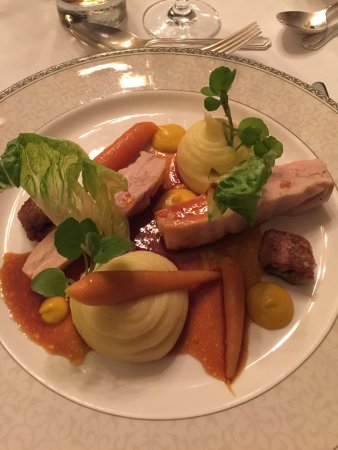 Rotherwick, UK: Chicken - at the restaurant