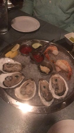 Brine: Oysters and shrimp