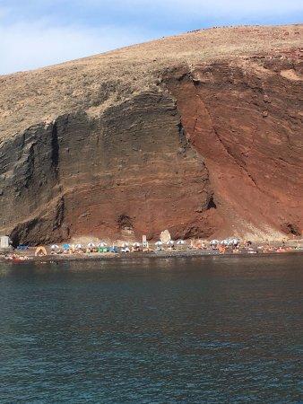 Santorini Sailing Center : Red Beach