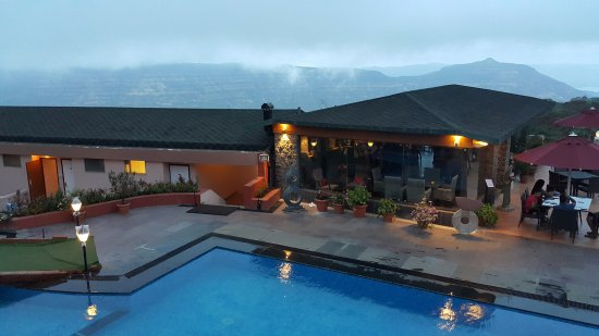 An amazing resort with the very exciting view of mountain