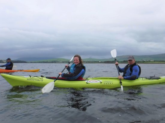 Irish Adventures : kayaking in DIngle