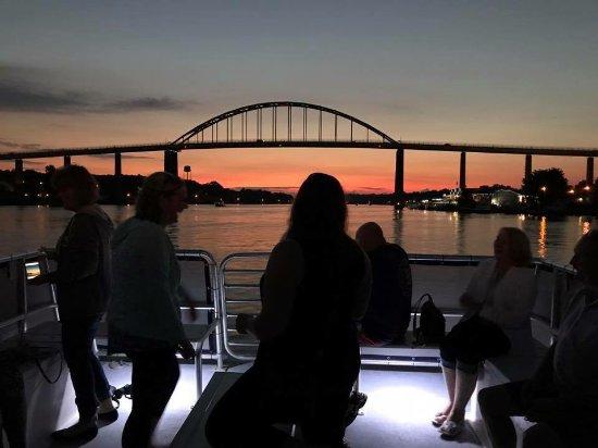 Chesapeake City, Μέριλαντ: Spectacular Views on our Sunset Cruises!