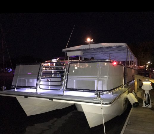 Chesapeake City, MD: Our custom-built Party Boat! We can hold 49 passengers.